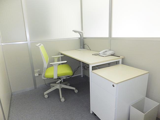 ご利用するタイムレンタルオフィスルーム